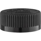 33mm 33-400 Black Child Resistant Cap (Pictorial) w/F217 Liner