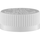 33mm 33-400 White Child Resistant Cap (PDT) w/Foam Liner (3-ply)