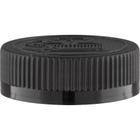 45mm 45-400 Black Child Resistant Cap (Pictorial) w/Foam Liner (3-ply)