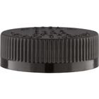 45mm 45-400 Black Child Resistant Cap (PDT) w/Foam Liner (3-ply)