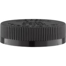 53mm 53-400 Black Child Resistant Cap (PDT) w/PS22 Liner (Printed)