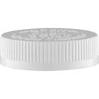 53mm 53-400 White Child Resistant Cap (PDT) w/Foam Liner (3-ply)