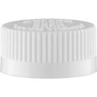 28mm 28-400 White Child Resistant Cap (PDT) w/Foam Liner (3-ply)