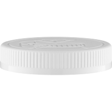 89mm 89-400 White Child Resistant Cap (Pictorial) w/Foam Liner (3-ply)