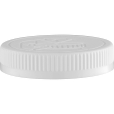 70mm 70-400 White Child Resistant Cap (Pictorial) w/Foam Liner (3-ply)