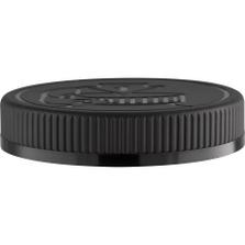 89mm 89-400 Black Child Resistant Cap (Pictorial) w/Foam Liner (3-ply)