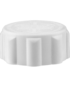 28mm 28-400 EZ-Safe® White Child Resistant Cap w/PS22 Liner (Printed)