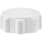 33mm 33-400 EZ-Safe® White Child Resistant Cap w/Foam Liner (3-ply)