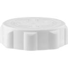 45mm 45-400 EZ-Safe® White Child Resistant Cap w/Foam Liner (3-ply)
