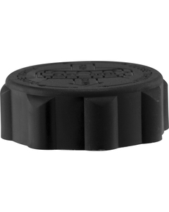 38mm 38-400 EZ-Safe® Black Child Resistant Cap w/PS22 Liner (Printed)