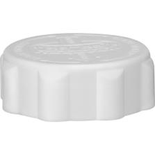 38mm 38-400 EZ-Safe® White Child Resistant Cap w/PS22 Liner (Printed)