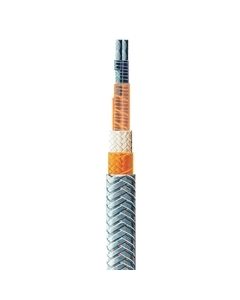 4 W/ft Constant-Wattage Heating Cable, Tinned Copper Braid (208V)