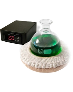 Lower Hemispherical Heating Mantle w/SDC Temperature Controller (C° Model Pictured)