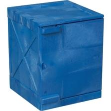 4 Gallon Blue Modular Quik-Assembly™ Bench Top Cabinet