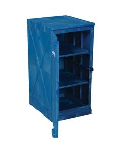 12 Gallon Blue Modular Quik-Assembly™ Poly Cabinet