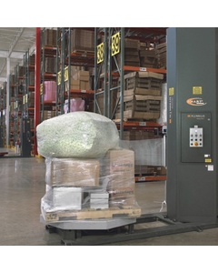 "80 Gauge - 20"" x 5000' Clear Blown Stretch Wrap Film (Machine Roll)"