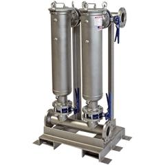 Multi-Plex (2) Filter Vessel, Carbon Steel, 3
