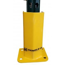 """18""""H x 6""""ID Yellow Pallet Rack Upright Post Protector"""