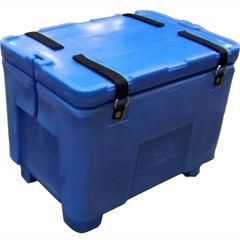 Polar® PB02 - 15 Gallon Insulated Bin, Rubber Straps (2 cu ft)