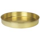 "12"" Brass Sieve Pan, 1"" Height (Half)"