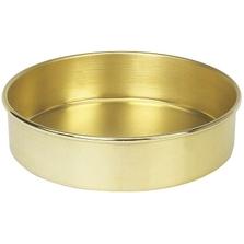 "8"" Brass Sieve Pan, 2"" Height (Full)"