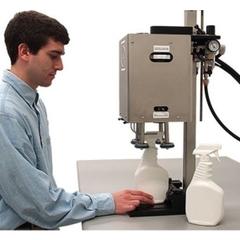 Pneumatic Pumpcap™ Capping Machine (15-130mm) Max Height 15