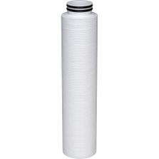 "2.7"" x 20"" polyolefin filter cartridges (10"" version shown in photo)"