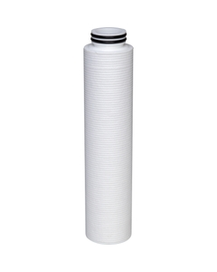 "2.7"" x 30"" polyolefin filter cartridges (10"" version shown in photo)"