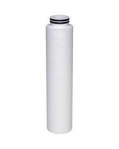"2.7"" x 40"" polyolefin filter cartridges (10"" version shown in photo)"