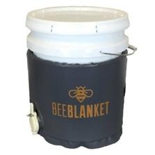 5 Gallon Honey Pail Heater w/Cutout Gate Valve, Preset Temperature, 110°F, 120v, 120w - Powerblanket® Bee Blanket™ (BB05GV)