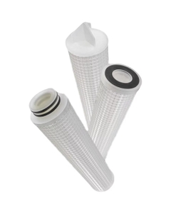 Pleated Polypropylene Liquid Filter Cartridges - see options to configure!