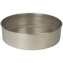 "12"" Stainless Steel Sieve Pan, 2"" Height (Full)"