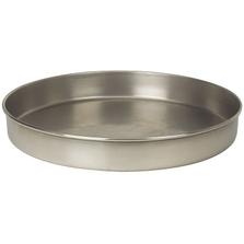 "12"" Stainless Steel Sieve Pan, 1"" Height (Half)"