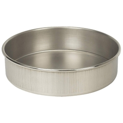"8"" Stainless Steel Sieve Pan, 2"" Height (Full)"