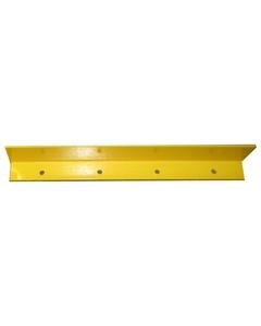 "48"" Yellow Medium-Duty Extender For End Aisle Rack Guard"