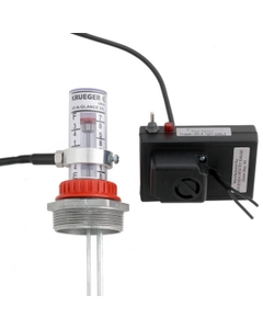 At-A-Glance™ Remote Mount Aubible & Flashing Light Gauge Alarm, Dry Contacts
