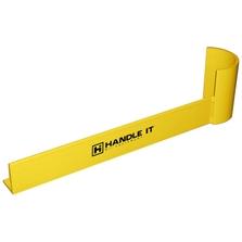 "42"" Yellow Medium-Duty Right Hand End Aisle Rack Guard"