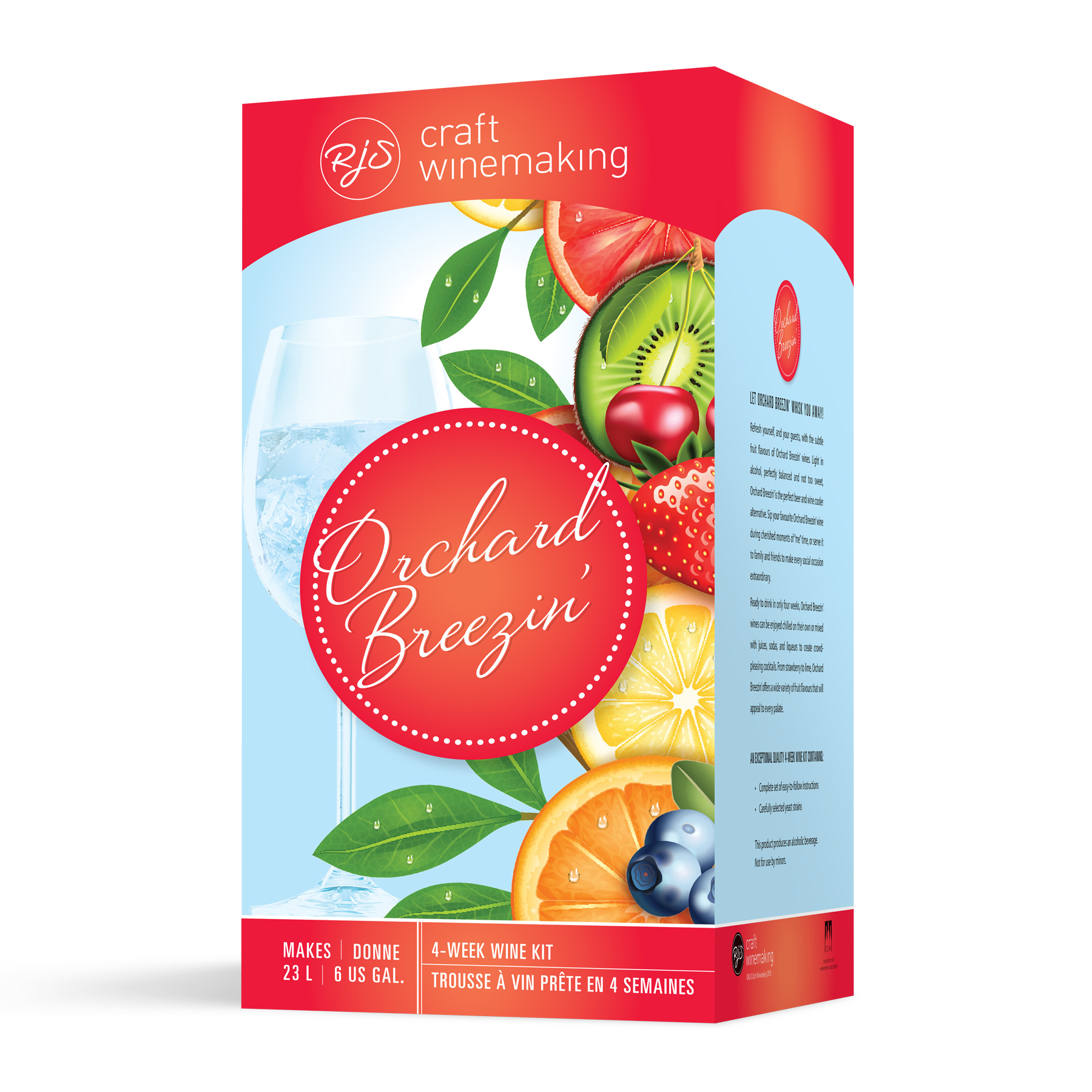 Orchard Breezin' Fruit Wines