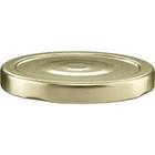 70mm 70-2030 Gold Button Metal Lug Cap w/ Plastisol Liner