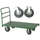 "30"" x 60"" Steel Platform Truck, 8"" x 2.5"" Pneumatic Casters, 1,600 lb. Capacity"