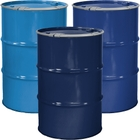 """55 Gallon Steel Drum, Reconditioned, Unlined, Cover w/Lever Lock Ring, 2"""" & 3/4"""" Fittings"""