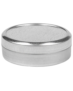 1 oz. Flower Packaging Tin Can, Slip Cover Lid