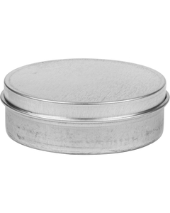 2 oz. Flower Packaging Tin Can, Slip Cover Lid