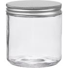 16 oz. Dispensary Storage Jar, Aluminum Metal Cap, 89mm 89-400