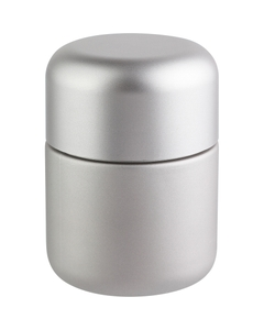 4 oz. Silver Glass Jar for Flower Packaging, Silver Child Resistant Cap, 53mm 53-400