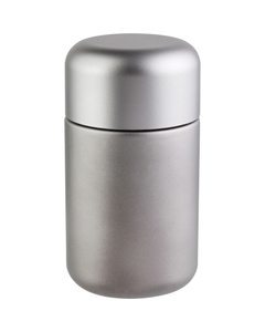 6 oz. Silver Glass Jar for Flower Packaging, Silver Child Resistant Cap, 53mm 53-400