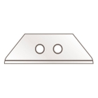 Deep-Edged Rounded-Tip Trapezoid Replacement Blades (60099), 100/pk