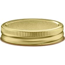70mm 70G-450 Gold Metal Cap w/ Plastisol Liner