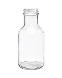 8 oz. Clear Glass Stout Bottle, 38mm 38-405