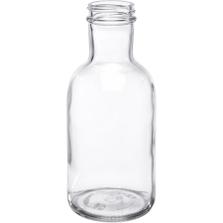 12 oz. Clear Glass Stout Bottle, 38mm 38-405